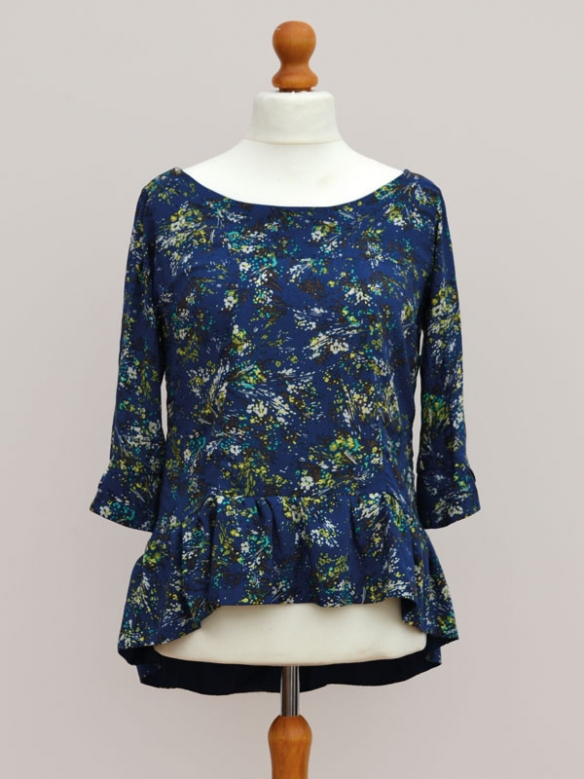 The Blue Floral Azaire