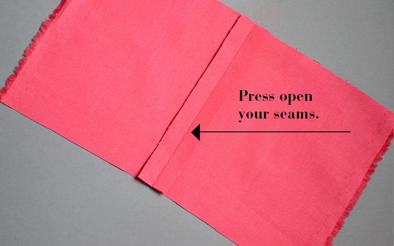 how to cut seams properly