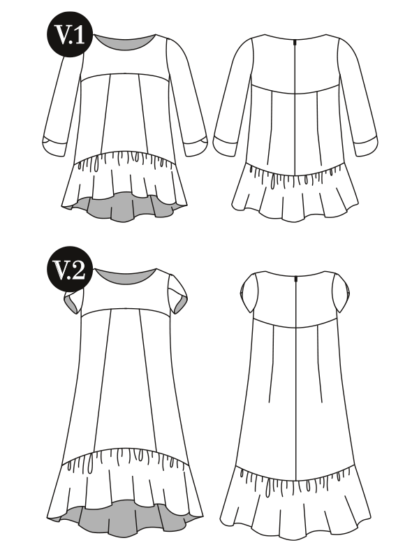 The Azaire | Gather sewing patterns