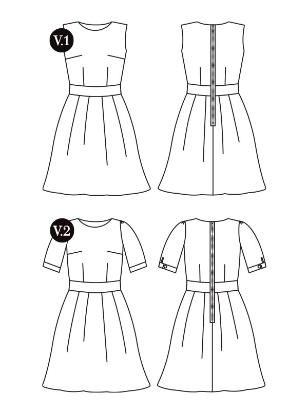 The Mortmain | Gather sewing patterns